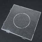 Plastic Large Fuse Perler Beads Boards Hexagon/Square/Round Pegboards Kids