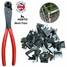 WIRE MESH CLIPS (Large) Gabions, Cage making, Mesh Panels *UK MADE* Clips CT35