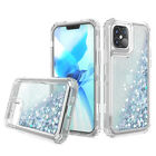 For iPhone 12 Pro Max/12 Pro Shockproof Bling Case fits Otterbox Defender Clip