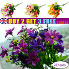 Uk Artificial Chrysanthemum Flowers 28 Heads Daisy Bouquet Party Home Decor