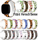 For Fitbit Versa 3/Sense Watch Replacement Band Strap Silicone Sports Bracelet