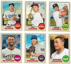 2017 Topps Heritage Short Prints Sp 401-500 710-725 You Pick