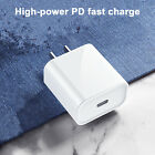 For Apple iPhone 12 Pro Max 12Mini 11 iPad Fast Charger Charging Head 18W USB-C