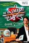 .Wii.' | '.Are You Smarter Than A 5th Grader Game Time.
