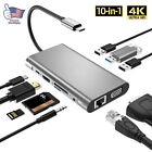 New For MacBook Pro Air 2020 Multiport USB-C HUB to 4K HDMI USB 3.0 Aux Adapter