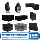 Outdoor Garden Furniture Cover Patio Chairs Ping Pong Table Sofa Water/uv Proof