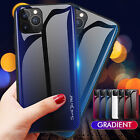 For iPhone 12 11 Pro Max Xs Xr 7 8+ Case Luxury Tempered Glass Hard Phone Cover