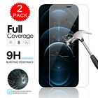 For iPhone 12 / Pro / Max/ 12 Pro Max Full Cover Tempered Glass Screen Protector