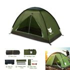 2020 Waterproof Backpacking Tent for 1-2 Person Hiking Camping Tent Sun Shelter