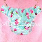Sissy Satin Panties Florals Prints high gloss MENS Silky FULL Bikini S- 2XL