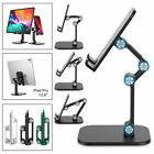 Adjustable Phone Tablet Desktop Stand Desk Holder Mount Cradle For iPhone iPad