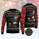 ROTTWEILER TOWN CHRISTMAS UGLY CHRISTMAS SWEATER S-3XL