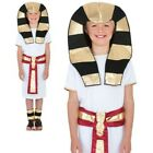 Egyptian King Historic Pharaoh Costume Boys Book Week Fancy Dress Outfit