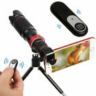 HD Optical Super Zoom Lens for Mobile Phone Telescope 4K 22x 36x with Tripod