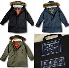 NWT Abercrombie&Fitch by Hollister Men's M51 Down-Filled Parka Winter Jacket