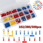 300/280X Assorted Crimp Spade Terminal Insulated Electrical Wire Connector Kit