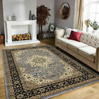 Luxury Non Slip Large Traditional Rugs Bedroom Living Room Rug Hallway Runner