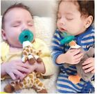 Baby Dummy Pacifier Clip Chain Plush Lovely Animal Toy Nipple Holder Soother