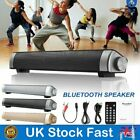 Stereo Bluetooth Speaker Wireless RC Big Power TF MP3/4 Mic Rechargeable 1800mAh