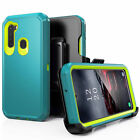 For Samsung Galaxy A21 Case Defender Shockproof Cover+Belt Clip fits Otterbox