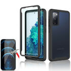 For Samsung Galaxy S20 FE 5G A21s Full-Body Rugged Case Cover Screen Protector