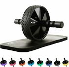 XN8 Abdominal Core Strength Pro Ab Wheel Roller With Knee Mat Exercise Fitness