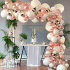 Rose Gold Balloon Garland Arch Kit Birthday Wedding Baby Shower Party Decor Uk