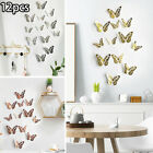 Butterfly Wall Stickers Decals Windows Bedroom Home Decoration Beautiful