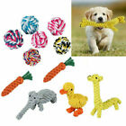 Pet Dog Chew Toys Braided Rope Indestructible Dog Bite Teeth Dental Cleaner Toys