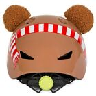 Kids Cartoon Cute Animal Bike Helmet Bicycle Scooter Protection With Taillight