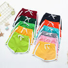 Fashion Children Boys Girls Candy Colors Casual Shorts Elastic Waist Short Pants