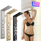 New Shower Panel Tower Wall Mount Shower Faucet Set Massage System With Led