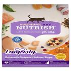 Rachael Ray Nutrish Longevity Natural Senior Dry Cat Food, Chicken With Chickpea