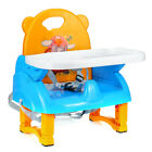 Baby High Chair Convertible Play Table Seat Booster Toddler Feeding Tray 0.6-6Y