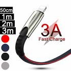 For Apple iPhone 5 6 7 8 X XS 11 12 Unbreakable Fast Charging Cable Charger Lead