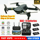 Drone X Pro WIFI FPV 4K HD Camera 1-3Batteries Foldable Selfie RC Quadcopter USA