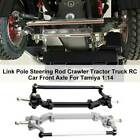 Replacement Parts Steering Rod Tractor Truck Rc Car Front Axle For Tamiya 1:14