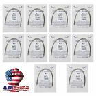 100pcs Dental Orthodontic Super Elastic Niti Arch Wire Round Ovoid 10 Bags