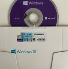 WlINDOWS 10 FULL VERSION 64 BIT WITH GENUINE PRODUCT KEY SEALED  NEW <br/> CHOOSE BETWEEN HOME AND PROFESSlONAL!