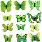 Stereoscopic Butterfly Stickers Magnets Sticker Curtain Diy Home Decoration Ds