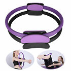 Dual Grip Pilates Workout Ring Body Fitness Exercise Yoga Circle Trainer Tool US