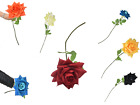 Artificial Rose  With Long Stem  Flowers Fake Wedding Party Home Decor