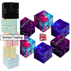 Sensory Infinity Cube Fidget Toy for Stress Autism Anxiety Relief Kids Adults