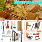 5/6/8PCS Set Bee Tool Beekeeping Equipment Beekeeper Tools Catcher Hive Tool