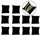 10X Velvet Bracelet Watch Pillow Cushion Jewelry Display Holder Stand Organizers