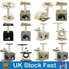 Pet Cat Kitten Luxuary Cat Tree Sisal Scratching Post Activity Centre Bed Tower