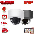 Anpviz 5MP POE IP Camera Outdoor Waterproof One-way Audio Dome Security Camera