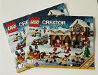 Lego Christmas Manuals - Manuals Only No Lego Pces - Multiple Different Ones