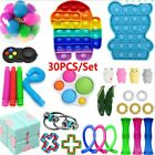 30Pack Fidget Toys Set Sensory Tools Bundle Stress Relief Hand Kids Adults Toys