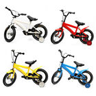14 inch Kids Bike Boys Girls Safe Bicycle with Training Wheels Children Cycle UK